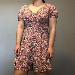 (2 for $30) Floral Romper